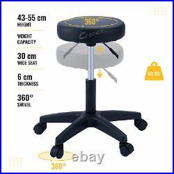 179cm Massage Table and Stool Kit Adjustable Tattoo Pedicure Lash Wax Sofa Bed