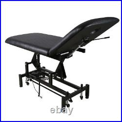 2 Section Electric Massage Table Beauty Bed Salon Tattoo Facial Therapy Couch UK