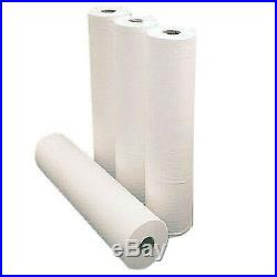 2 x Paper Roll 20 50M WHITE Hygiene Beauty Salon Massage Couch Table Bed Cover