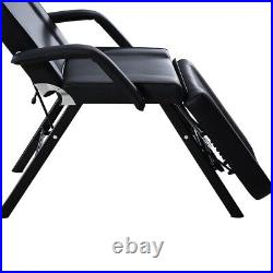Adjustable Beauty Massage Couch Bed with Stool Chair Salon Table Tattoo Spa Relax