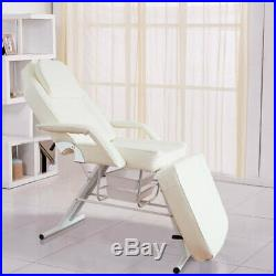 Adjustable Beauty Salon Treatment Massage Couch Bed With Underneath Storage Trays