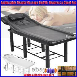 Adjustable Body Massage Bed Spa Bed Table Couch Bed Physio Tattoo Beauty Chair