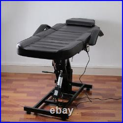 Adjustable Electric Massage Table Spa Salon Facial Beauty Care Tattoo Couch Bed