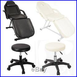 Adjustable Massage Bed Beauty Salon Chair Tattoo Therapy Facial SPA Table Couch
