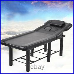 Adjustable Massage Couch Bed Beauty Salon Chair Tattoo Therapy Table Recliner
