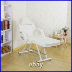 Adjustable Massage Couch Bed Chair Stool Fit Beauty Salon Table Tattoo Therapy