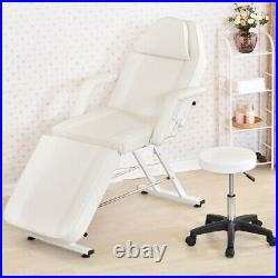 Adjustable Massage Couch Bed Chair& Stool Fit Beauty Salon Table Therapy Tattoo