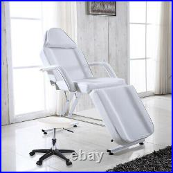 Adjustable Massage Couch Bed & Stool Beauty Salon Table Chair Tattoo Therapy