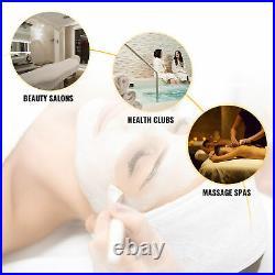 Adjustable Massage Table Tattoo Pedicure Facial Massage Lash Sofa Bed w Stool