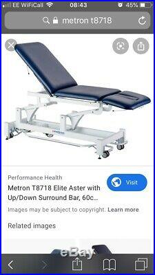 BNIB Metron Elite 2 Section T8718 Couch Physio Tattoo Treatment Bed