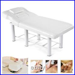 Beauty Bed Couch Balance Massage Salon Chair Physio Tattoo Relax Spa Table White