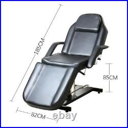 Beauty Salon Bed Chair Set Facial Therapy SPA Massage Table Tattoo Couch + Stool