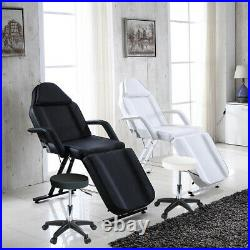 Beauty Salon Bed Chair & Stool Spa Massage Treatment Tattoo Therapy Couch Table