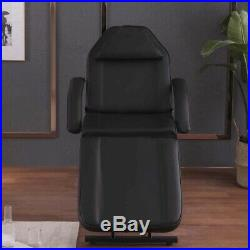 Beauty Salon Chair Bed Reclining Facial Massage Table Therapy Tattoo Couch Stool