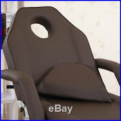 Beauty Salon Chair Bed Reclining Facial Tattoo Therapy Massage Table Couch Stool