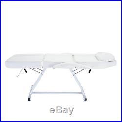 Beauty Salon Chair Massage Table Tattoo Facial Therapy Couch Bed with Stool UK