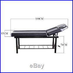 Beauty Salon Chair Massage Table Treatment Couch Bed Stool with Facial Breath Hole