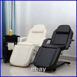 Beauty Salon Hydraulic Bed Massage Table Couch Chair Tattoo Facial Spa Treatment