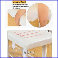 Beauty Salon Massage Bed Table Chair Stool Set Couch Facial Therapy Spa Tattoo