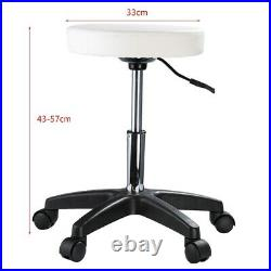 Beauty Salon Massage Table Tattoo Facial Therapy Couch Bed with Stool Chairs Set