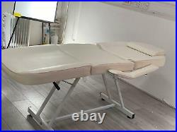 Beauty Therapy Massage Couch Table Bed with Stool