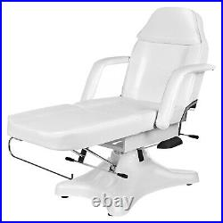 Beauty Therapy Table Spa Relax Bed Massage Couch Pedicure Tattoo Chair White