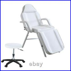 Cliner Beauty Salon Bed Massage Table Therapy Tattoo Spa Couch Chair With Stool UK