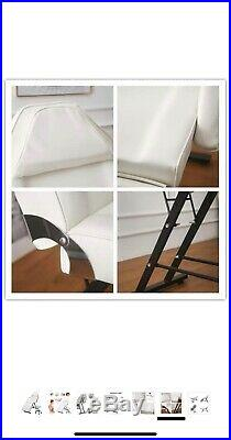 Cream Massage Couch Bed Chair & Stool Fit Beauty Salon Table Tattoo Therapy Tool