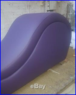 Crushed velvet sofa relax chair tantra Kamasutra massage erotic chaise bed