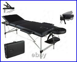 Deluxe Lightweight Portable Folding Massage Table Bed Beauty Salon Therapy Couch
