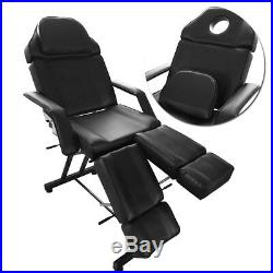 Deluxe Pedicure Chair Massage Table Tattoo Therapy Couch Bed For Beauty Salon UK