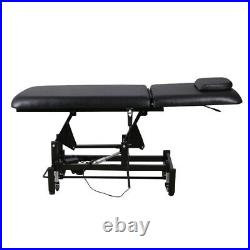 Electric Adjustable Couch Therapy Chair Beauty Table Massage Bed Facial Tattoo