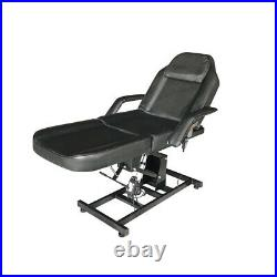 Electric Beauty Bed 3 Section Massage Table Recline Tattoo Spa Facial Couch Bed