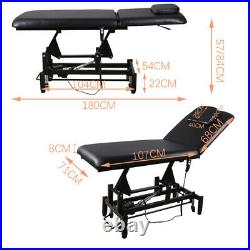 Electric Beauty Salon Chair Massage Table Tattoo Therapy Treatment Spa Couch Bed