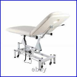 Electric Massage Table Beauty Salon Reclining Facial Therapy Treatment Couch Bed