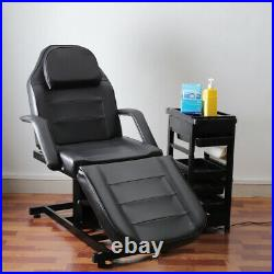 Electric Massage Table Spa Salon Facial Beauty Care Tattoo Couch Bed Black