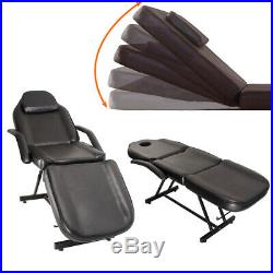Faux Leather Salon Beauty Bed Chair Massage Table Tattoo Therapy Couch and Stool