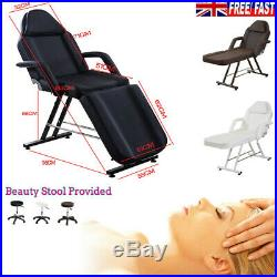 Fit Beauty Salon Chair Bed Adjustable Therapy Massage Table Tattoo Couch Stool