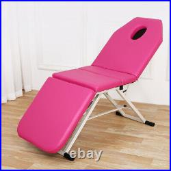 Foldable Beauty Massage Bed Sling Salon Recliner Tattoo Therapy Couch Bed Chair
