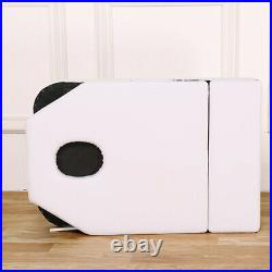 Foldable Beauty Salon Recliner Bed Massage Table Bed Couch SPA Chair WHITE
