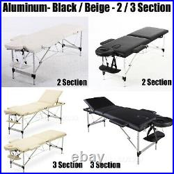 Folding Massage Table Beauty Bed Tattoo Salon Waxing Facial SPA Care Couch & Bed