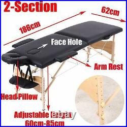 Folding Massage Table Bed Couch Beauty Tattoo SPA Relax Reiki Therapy Treatment