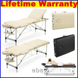 Folding Portable Massage Table Bed Spa Beauty Salon Facial Therapy Couch Bed