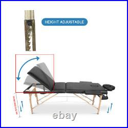 Home Salon Portable Folding Massage Table Bed Tattoo Home Spa Therapy Couch