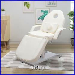 Hydraulic BeautySalon Massage Table Bed Tatoo Treatment Cosmetic Couch Swivel UK