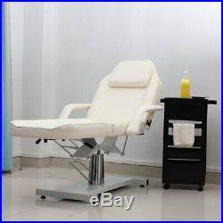 Hydraulic Chair Massage Bed Beauty Salon Facial Couch Tattoo Therapy Table UK