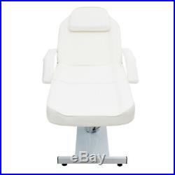 Hydraulic Massage Bed Couch Beauty Facial Therapy Tatoo Salon Table Chair White