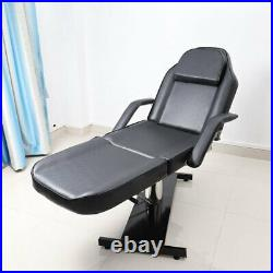 Hydraulic Massage Table Bed Beauty Salon Chair Threading Therapy Tattoo Couch UK