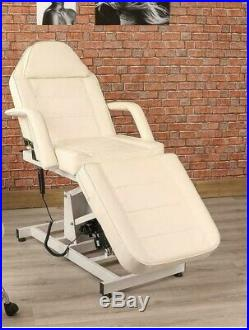 Hydraulic Salon Facial Bed Swivels Tattoo Massage Couch Table Beauty Equipments