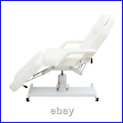 Hydraulic Sturdy Massage Table Beauty Bed Threading Waxing Tattoo Recliner Chair